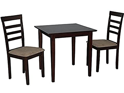 Superieur Simple Living Havana 3 Piece Espresso Brown Wood Dining Set Small Kitchen  Table And Chairs