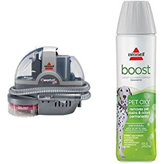 Cleaning Pet Boost Bundle - SpotBot Pet Spot and Stain Cleaner + Bissell Pet Oxy Boost