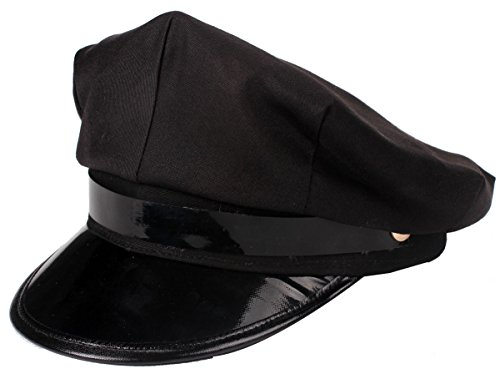 Seaman Costumes - SOONWELL Unisex Classic Captains Sailing Hat