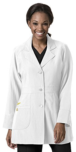 WonderWink Womens Four Stretch Coat