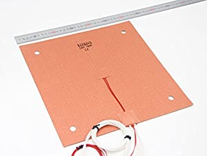 KEENOVO Silicone Heater 310x310mm for Creality CR-10 3D Printer Bed w/Screw Holes from Keenovo International Group Limited