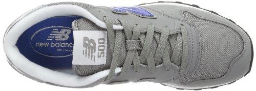 Sneaker 12 Grey Mehrfarbig 500 New Grigio Balance Blue Gbs Uomo wzBFE