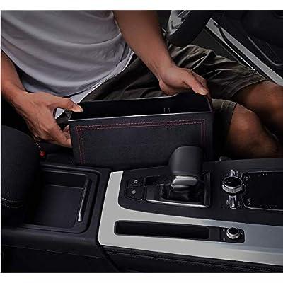 2 Pack Car seat quilting storage box multi-function slot storage box Driving storage bag co-pilot storage bag: Home Improvement