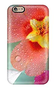 Awesome Design Fresh Flowers Hard Case Cover For Iphone 6