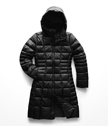 (The North Face Women's Metropolis Parka II, TNF Black, LG)