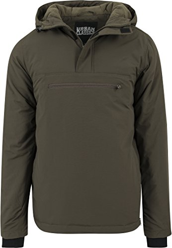 Chaqueta 176 Hombre Padded Over para Pull Classics Jacket Urban Olive Grün 0XvqnFwT