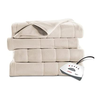 7e0d0d5c33 Image Unavailable. Image not available for. Color  Sunbeam Heated Fleece Electric  Blanket