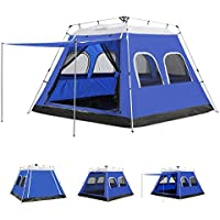 AYAMAYA Camping Tents 4-6 Persons/People/Man Instant...