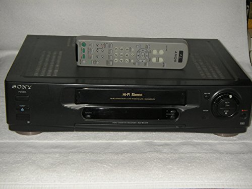- SONY DAPRO 4 Head Hi-Fi Stereo VCR, Model SLV-640 HF with working Sony Remote Control, Perfect!