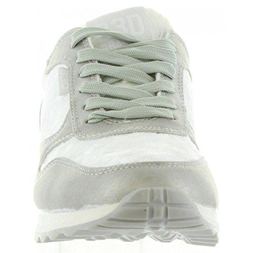 Scarpe sport per Donna BASS3D 41341 TEXT PLATA