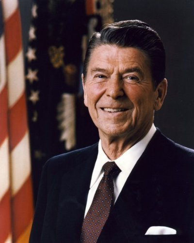President Ronald Reagan - Official photograph portrait - 8x10 Glossy -