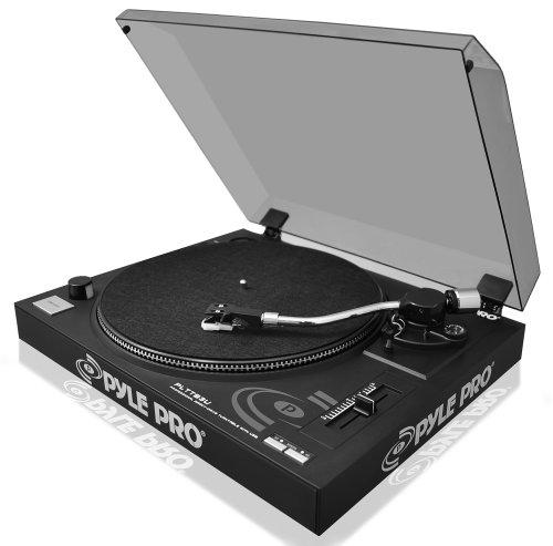 Jual Beli Pyle Pro Pp444 Ultra Compact Phono Turntable