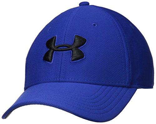 Blue 3 Cap - Under Armour Men's Blitzing 3.0 Cap, Royal (400)/Black, Large/X-Large