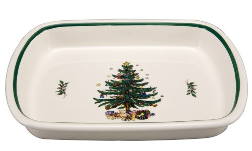 Nikko Christmas Ovenware Medium Lasagne Baking Dish