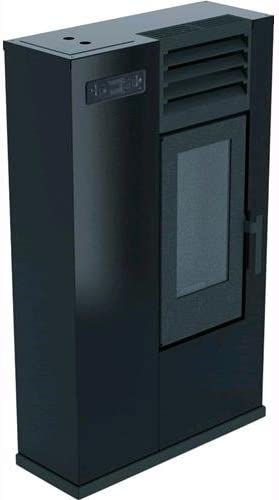 Estufa punto Fuego a Pellets Susy Slim 7,5/kW negro BR