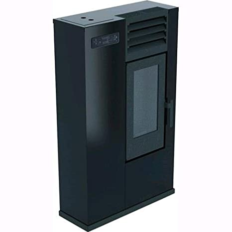 Estufa punto Fuego a Pellets Susy Slim 7,5 kW (BR) negro: Amazon.es: Bricolaje y herramientas