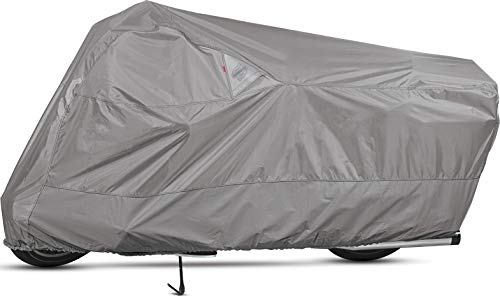 Dowco Guardian 50005-07 WeatherAll Plus Indoor/Outdoor Waterproof Motorcycle Cover: Grey, XX-Large