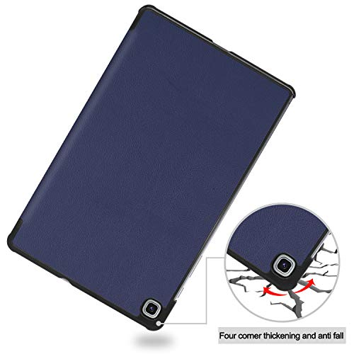 Smart Case for Galaxy Tab S6 Lite, Ratesell Lightweight Smart Trifold Stand Case Cover with Auto Sleep/Wake for Samsung Galaxy Tab S6 Lite 10.4 Inch Model SM-P610 / SM-P615 / SM-P617 Navy Blue