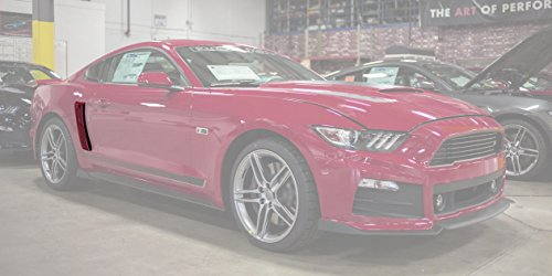 2015-2019 Mustang Roush Painted Quarter Panel Side Scoops - Ruby Red RR