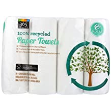 365 Everyday Value 100% Recycled Paper Towels, 8 Count