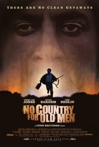 (27x40) No Country For Old Men Silhouette Movie Poster