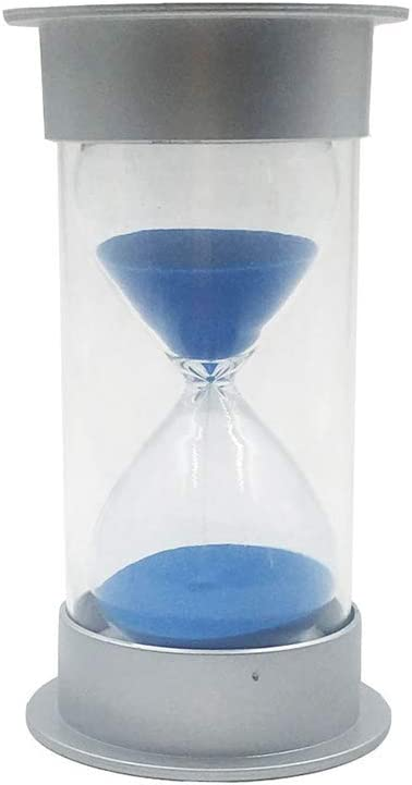 Wood 3 Minutes Cooking Kitchen Sand Timer Hourglass Kid Play Game Timer Blue
