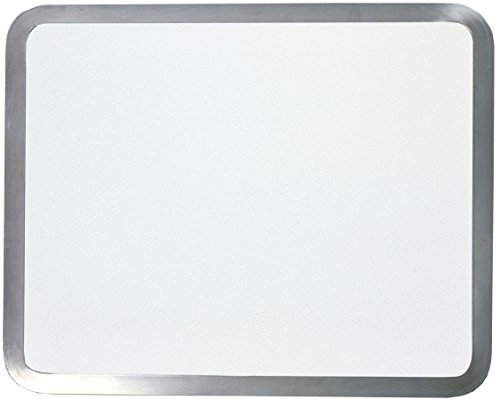Vance 12 X 15 inch White Built-in Surface Saver Tempered Glass Cutting Board, (Laminated Cutting Board)