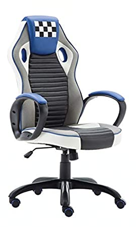 Office Pro Silla Gaming Silla de Escritorio Modelo Indianapolis (Azul): Amazon.es: Hogar