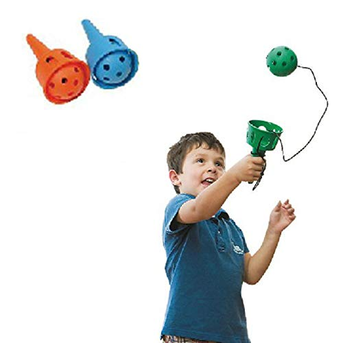2PC Pack- Throw and Catch- Fun Ball and Cup- Soft Ball Kendama for Beginner - Motor Skills Toys
