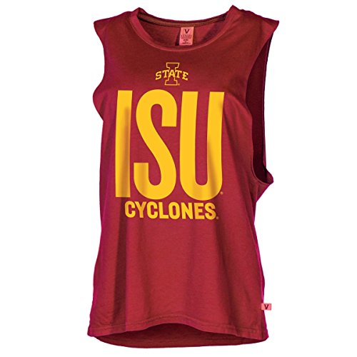 Official NCAA Iowa State University Cyclones ISU Fight Women's Muscle T-Shirt