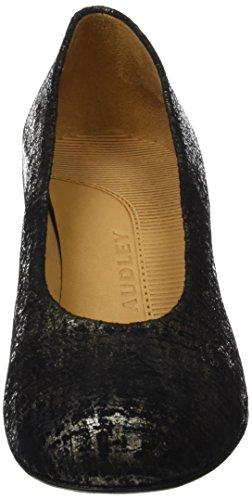 Metalizado Toe Women's Closed Metalizado Audley Heels Silver 19923 q0v48