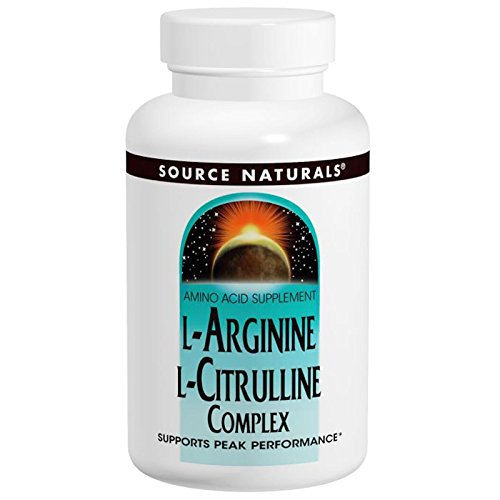 Source Naturals L-Arginine L-Citrulline Amino Acid Complex, Muscle Metabolism - 240 Tablets by Source Naturals