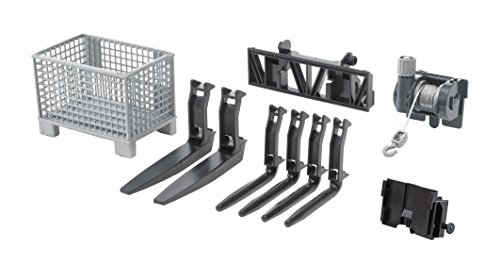 Fork Type (Bruder Accessories for Front Loader: Box-Type Pallet Winch and Forks)