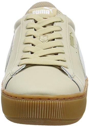 Donna Beige Platform Sneaker Vikky L Safari Puma White RWqIXgfRB