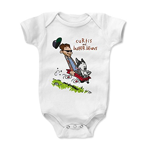 500 LEVEL Curtis Lepore Baby Onesie 18-24 Months White - Curtis and (Gorilla Costume Youtube)