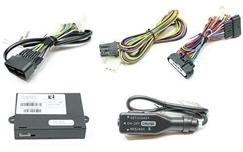 Rostra 250-9633 Complete Cruise Control Kit For 2013-2015 Mitsubishi Mirage ()