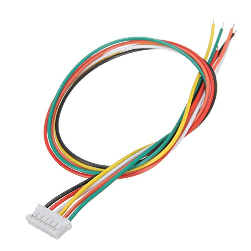 Price comparison product image Electrical Equipment & Supplies Other Electrical Equipment - 10Pcs Mini JST 2.0 PH 6Pin Connector Plug With 30cm Wires Cables - PH 2.0mm 6-pin Female Housing Connector plug with wire x 10 pcs