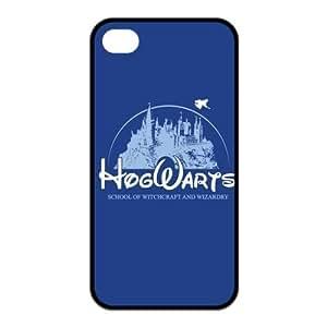 Hogwarts land funny logos Case for iphone 5c (TPU)