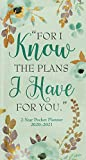 2020-21 For I Know The Plans I Have for You 2-Year Pocket Planner (24-Month Calendar)
