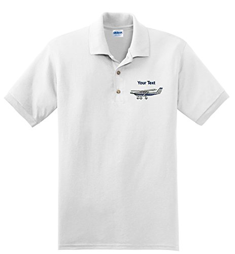 Personalized custom embroidered Cessna airplane product image