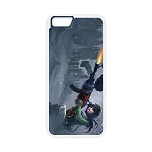 iPhone 6 4.7 Inch Cell Phone Case White League of Legends Arctic Warfare Caitlyn KWI8890168KSL