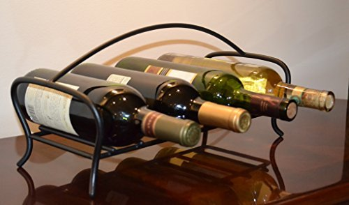 JJ Wire Horizontal Wine Bottle Stand