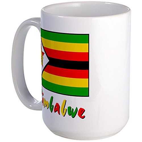 CafePress - Zimbabwe - Coffee Mug, Large 15 oz. White Coffee Cup