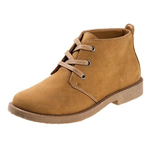 'Joseph Allen Boys Desert Chukka Work Boot, Tan, Size (Kids Army Boots)
