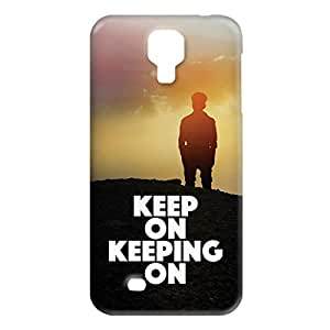 Loud Universe Samsung Galaxy S4 Keep On Keeping On Print 3D Wrap Around Case - Multi Color