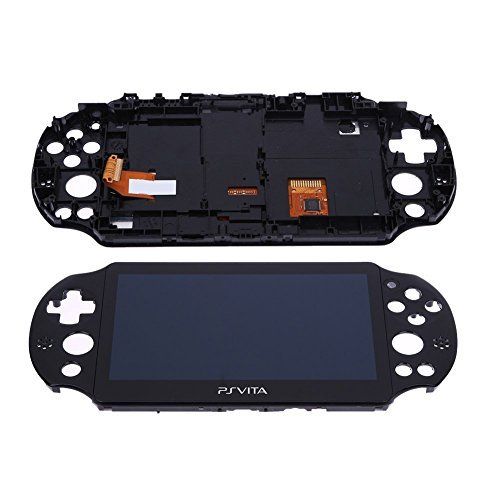 Brand New LCD Screen Display With Touch Screen Digitizer for PS Vita 2000 PSV 2 By HongLei ()