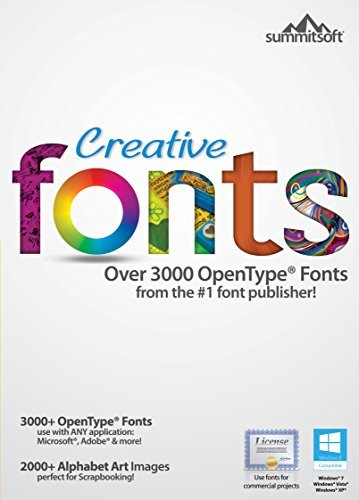 Creative Fonts [Download] by Summitsoft