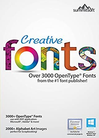 Creative Fonts [Download]