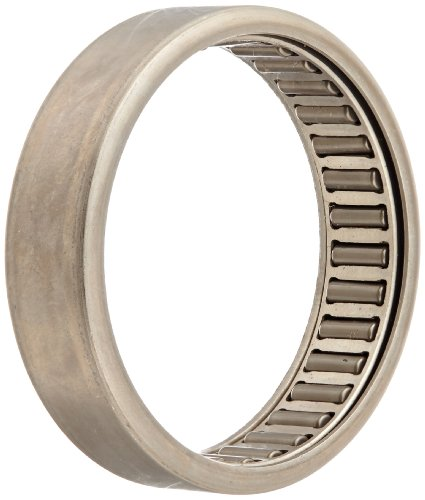 UPC 035373064076, INA HK4012 Needle Roller Bearing, Caged Drawn Cup, Outer Ring and Roller, Steel Cage, Open End, Metric, 40mm ID, 47mm OD, 12mm Width, 6500rpm Maximum Rotational Speed