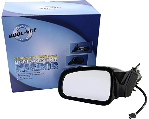 Mirror Glass Grand Pontiac Prix (Kool Vue PT15EL Pontiac Grand Prix Driver Side Mirror, Foldaway)